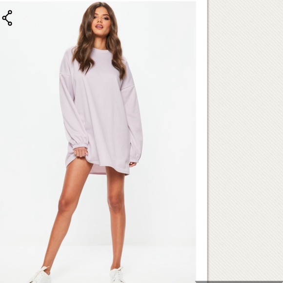 55e3c49f2246 Missguided Dresses | Lilac Oversized Sweater Dress | Poshmark